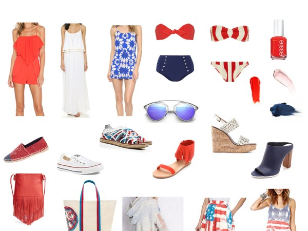 4th of July Fashion: Red, White, and You