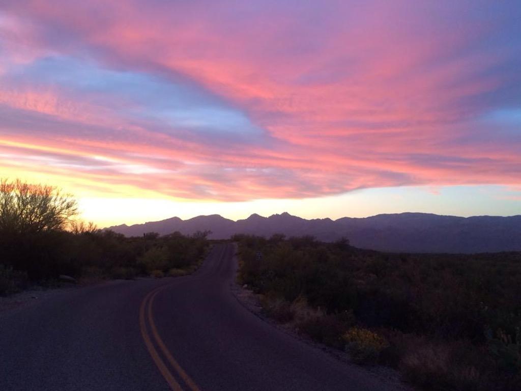 arizone sunset