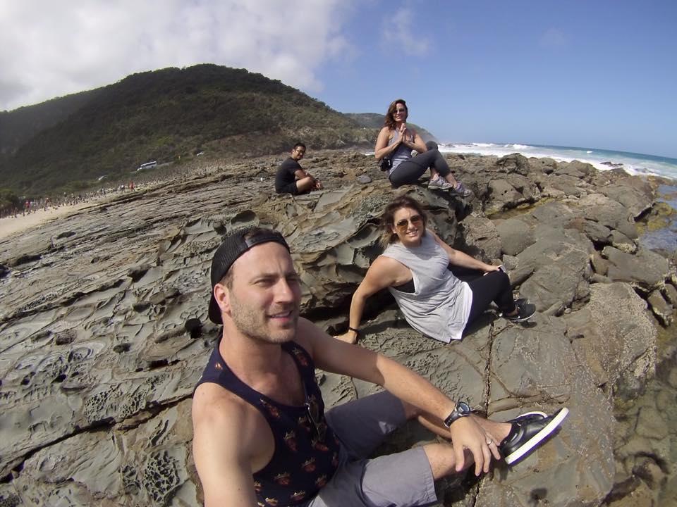 Rock Beach Meditation