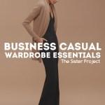 Business Casual: Fall Wardrobe Essentials