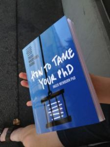 tame your phd book