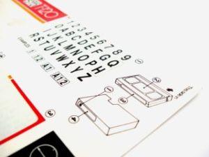 type instructions