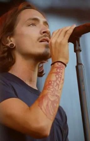Brandon Boyd Buddhist Tattoo