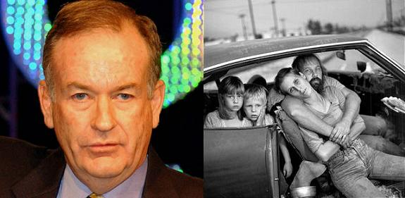 Bill O'Reilly and Homelessness