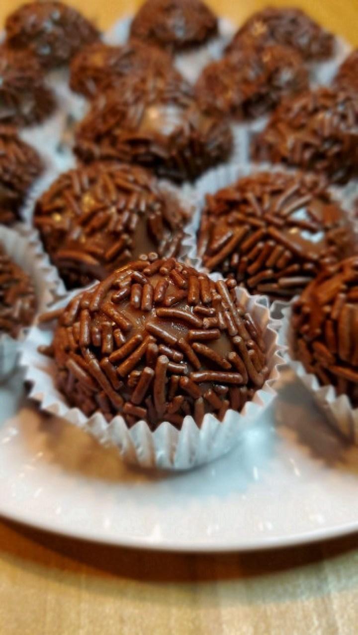Brazilan Chocolate Truffles or Brigadeiros