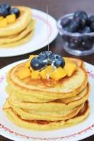 Mango Pancakes for Breakfast