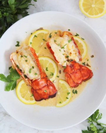 Air Fryer Lobster Tails