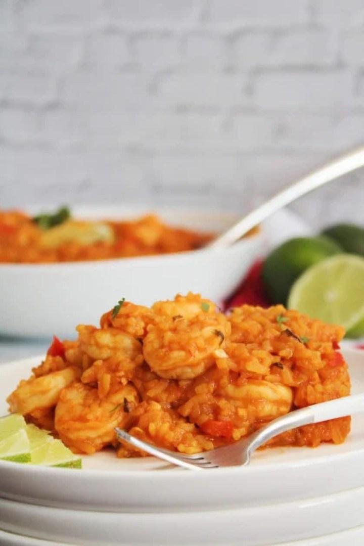 Shrimp stew from scratch