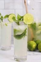refreshing coconut mojito