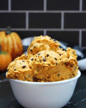 edible pumpkin cookie dough