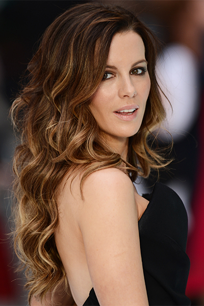 """LONDON, ENGLAND - AUGUST 16: Kate Beckinsale attends the """"Total Recall"""" UK premiere at Vue West End on August 16, 2012 in London, England. (Photo by Ian Gavan/Getty Images)"""