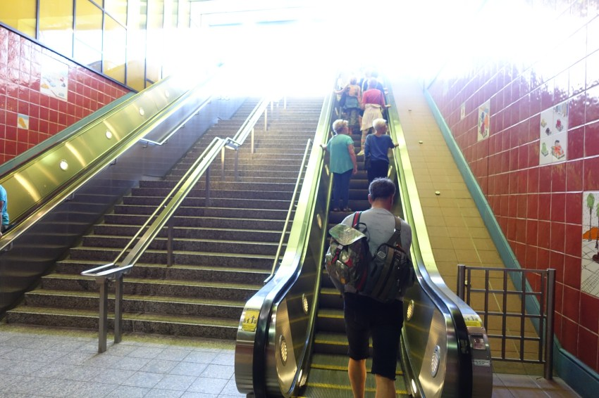 Stairway to Hollywood Blvd.