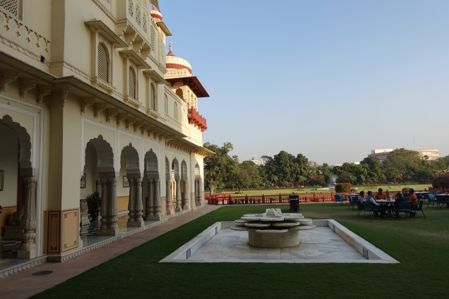The Rambagh Palace in Jaipur, India