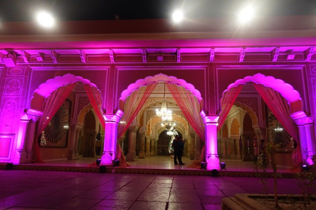 Jaipur City Palace wedding