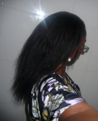 Relaxed hair pic 1