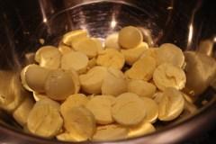 deviled eggs_yolks in bowl