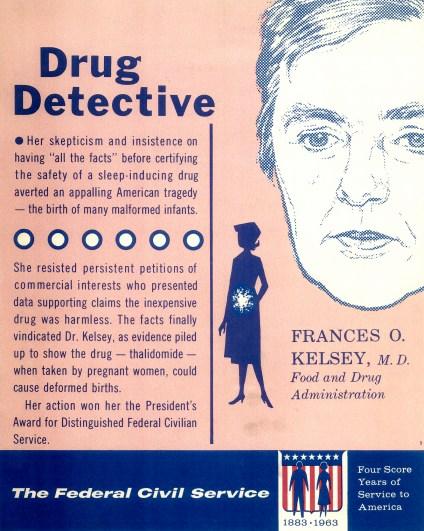 frances kelsey poster USA FDA