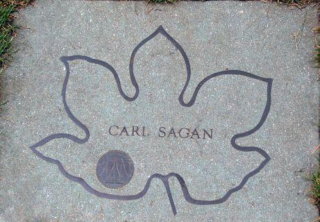 memorial carl sagan brooklyn