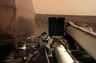 NASA mars probe insight landing space