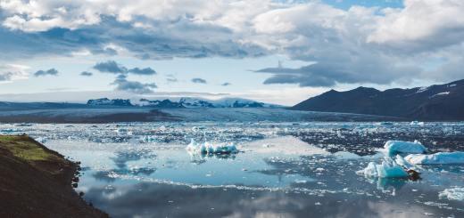 climate change cold glacier iceberg tundra frozen landscape