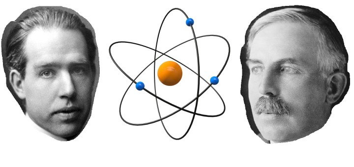 niels bohr ernest rutherford atomic theory