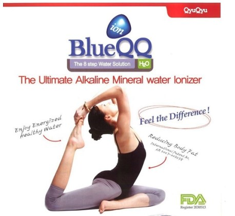 alkaline water blueqq fda registered not approved
