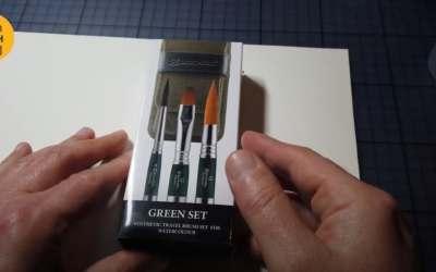 Unboxing Escoda Green Set