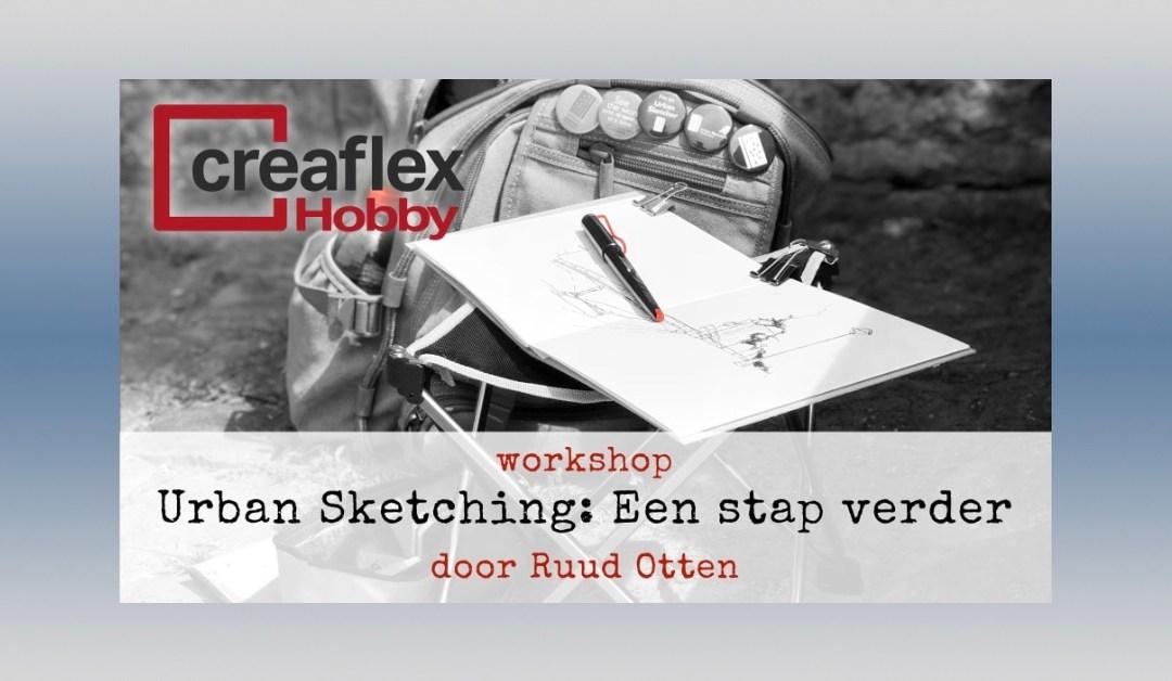 Workshop 'Urban Sketching: Een stap verder'