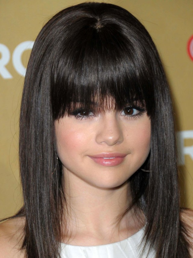 the best (and worst) bangs for round face shapes - the