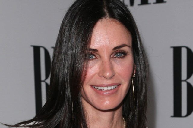 courteney cox, before and after - the skincare edit
