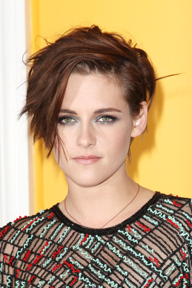 kristen stewart has a new short haircut (and the most