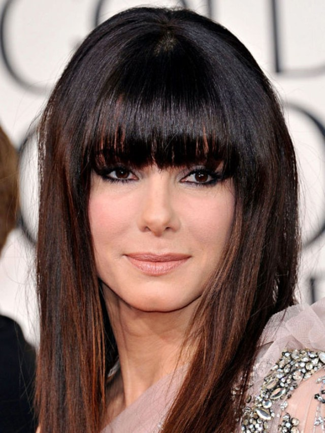 the best (and worst) bangs for square face shapes - the