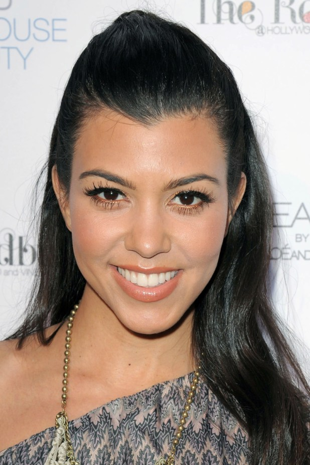 Kourtney Kardashian, Unbreakable by Khloe and Lamar fragrance launch, 2011