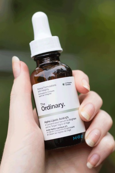 The Ordinary Alpha Lipoic Acid packaging bottle