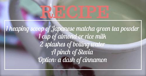 Lauryn Evarts shares Kristin Cavallari's green tea latte recipe from Twitter.