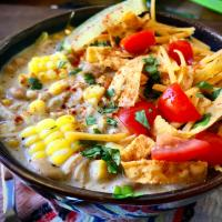 Crockpot Creamy White Chicken Chili
