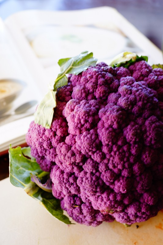 Purple Cauliflower Soup Recipe