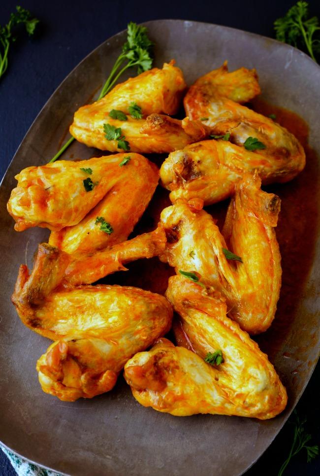 3 Ingredient Buffalo Chicken Wings Recipe
