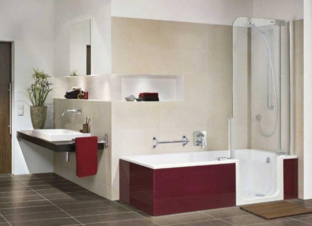 Cool Bathtub Shower Combo