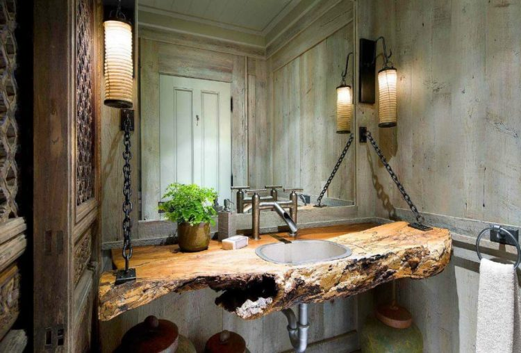 Enjoy Your Bath Time With These Beautiful Design of Bathroom Mirror Ideas 22