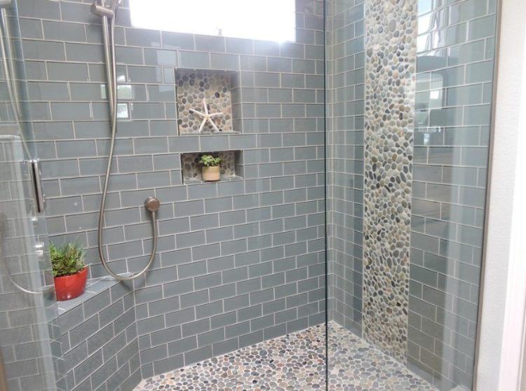 Subway Tile Shower Design