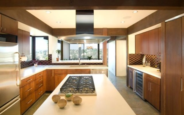 Cool Mid Century Modern Kitchen
