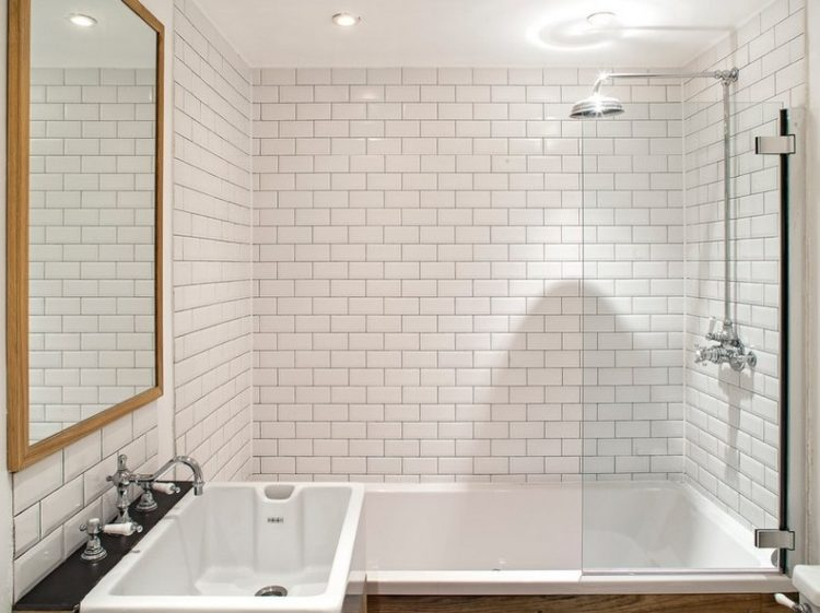 17 awesome subway tile shower to