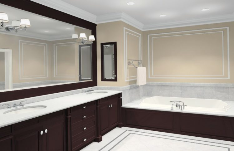 Enjoy Your Bath Time With These Beautiful Design of Bathroom Mirror Ideas 1