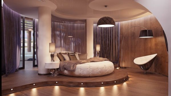 15 Most Amazing Modern Round Beds Ideas You'll Ever See 5