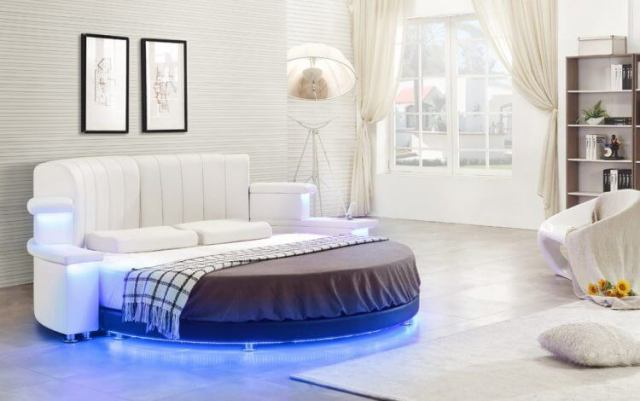10 Exquisite Modern and Classic Round Beds for Your Sleep Space 6