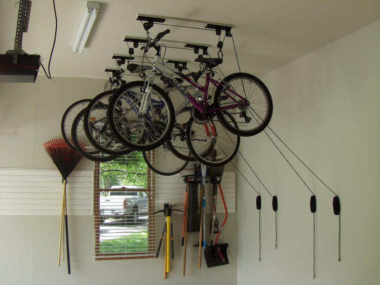 13 Creative Overhead Garage Storage Ideas You Should Know 11