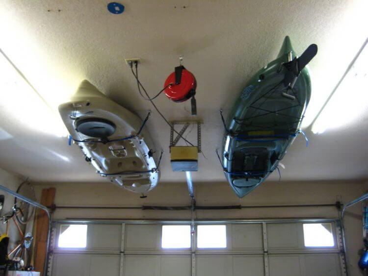 13 Creative Overhead Garage Storage Ideas You Should Know 12