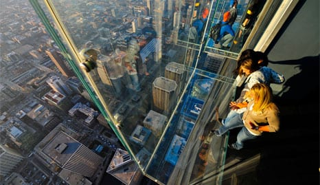 Skydeck Chicago at Willis Tower | Willis Tower Glass Ledge