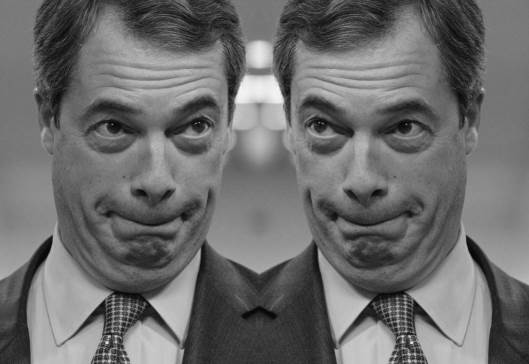 I Was Farage's Double!